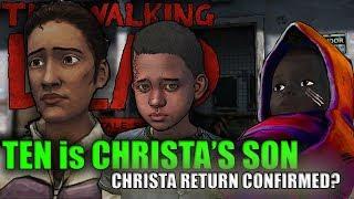 CHRISTA's SON is TEN?CHRISTA 100% CONFIRMED RETURN| The Walking Dead: The Final Season Episode 1