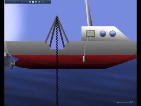 Algodoo sonar with display
