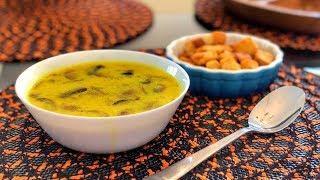 Кокосовый Суп с Грибами - Шампиньонами   Рецепт   Знаем что готовить !