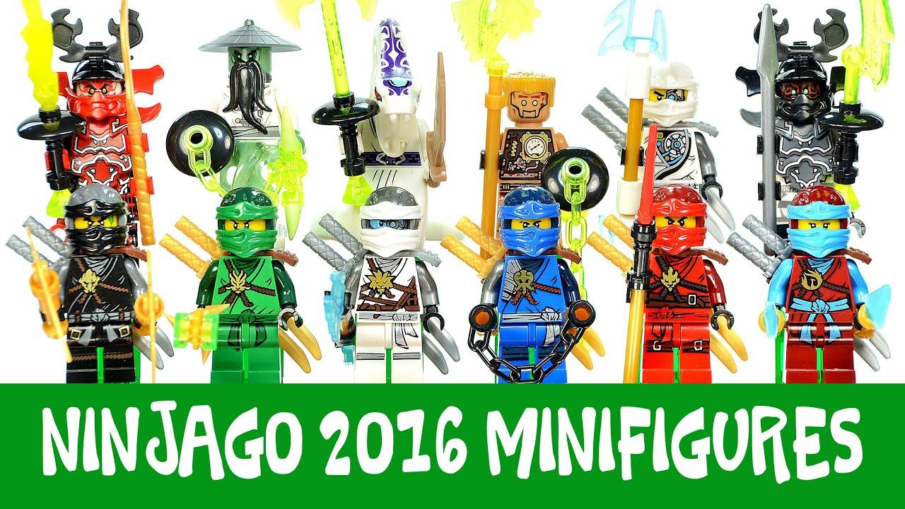 Ninjago 2016 rise of the villains set a b lego knockoff minifigures decool youtube - Lego ninjago a colorier ...