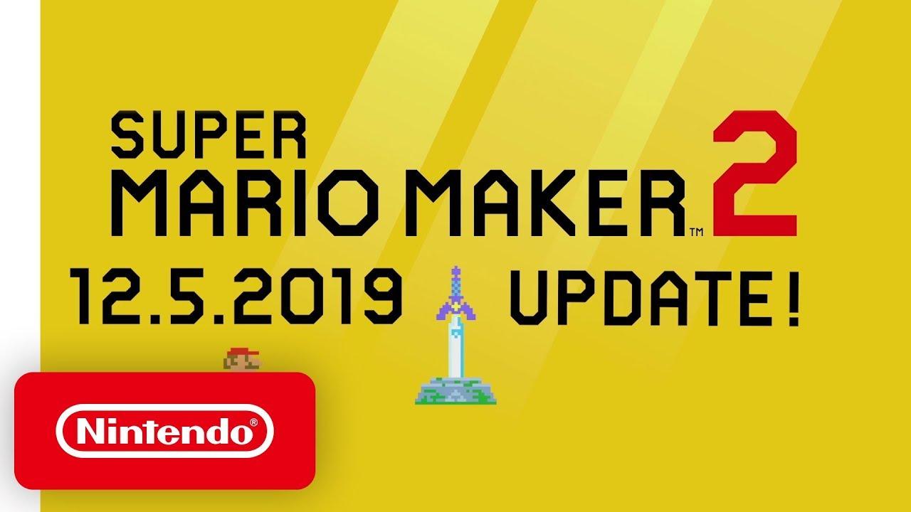 Super Mario Maker 2 A Legendary Update Nintendo Switch Youtube