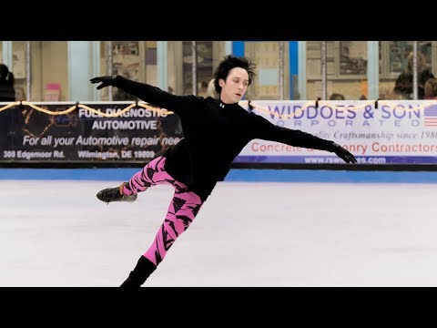 Johnny Weir, 'Never Give Up': Rehearsal Montage, July 2017