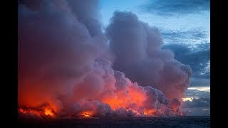 Hawaii Grows Each Day That Lava From The Kilauea Eruption Flows To The Ocean