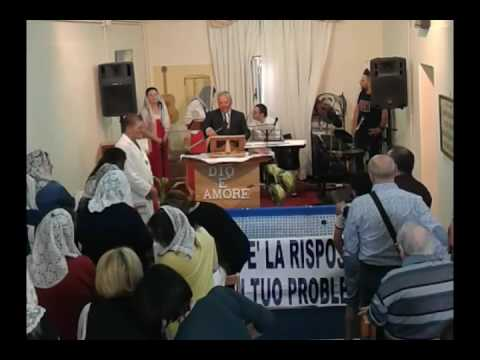 Battesimi. Chiesa Cristiana Evangelica Pentecostale, Secondigliano, Corso Italia 4° Traversa.