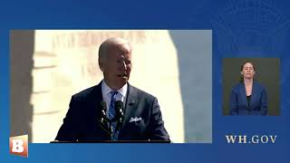 Joe Biden: The White Supremacy that Killed Dr. Martin Luther King Jr. Also Caused January 6 Protests