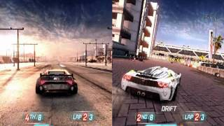 Split Second 2 Player Gameplay
