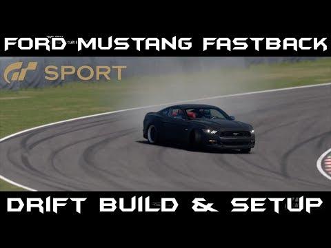 Gran Turismo Sport : Ford Mustang Fastback Drift Build & Setup