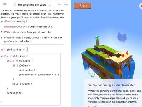 Swift Playground Learn to Code 2-1 Variables  (Solutions)