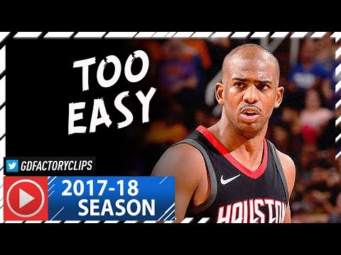 Chris Paul Full Highlights vs Suns (2018.01.12) - 25 Pts, 8 Reb, 6 Assists