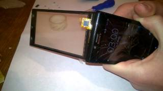 xperia J touchscreen replacement