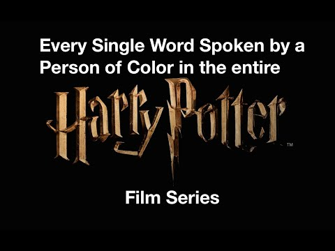 Every Single Word Spoken by a Person of Color in the Entire 'Harry Potter' Film Series