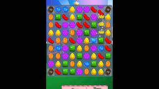 Candy Crush Saga Level 408 iPhone No Boosts