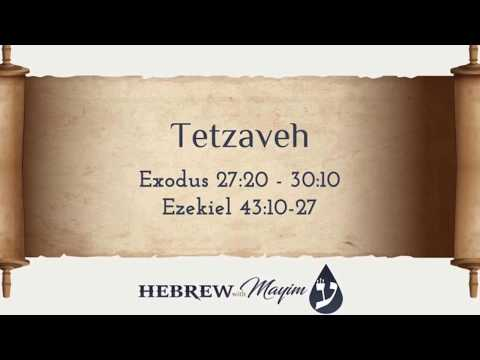 20 Tetzaveh, Aliyah 3 - Learn Biblical Hebrew