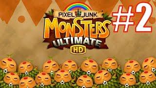 Продолжаю играть в PixelJunk Monsters: Ultimate - Easy 2 и Easy 3 - уровни