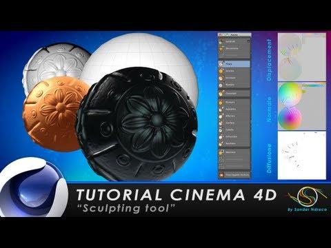 """TUTORIAL CINEMA 4D """"Sculpting tools"""""""