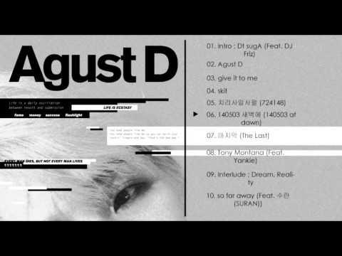 [ALBUM] Agust D (SUGA of BTS) - Agust D (1st MixTape)