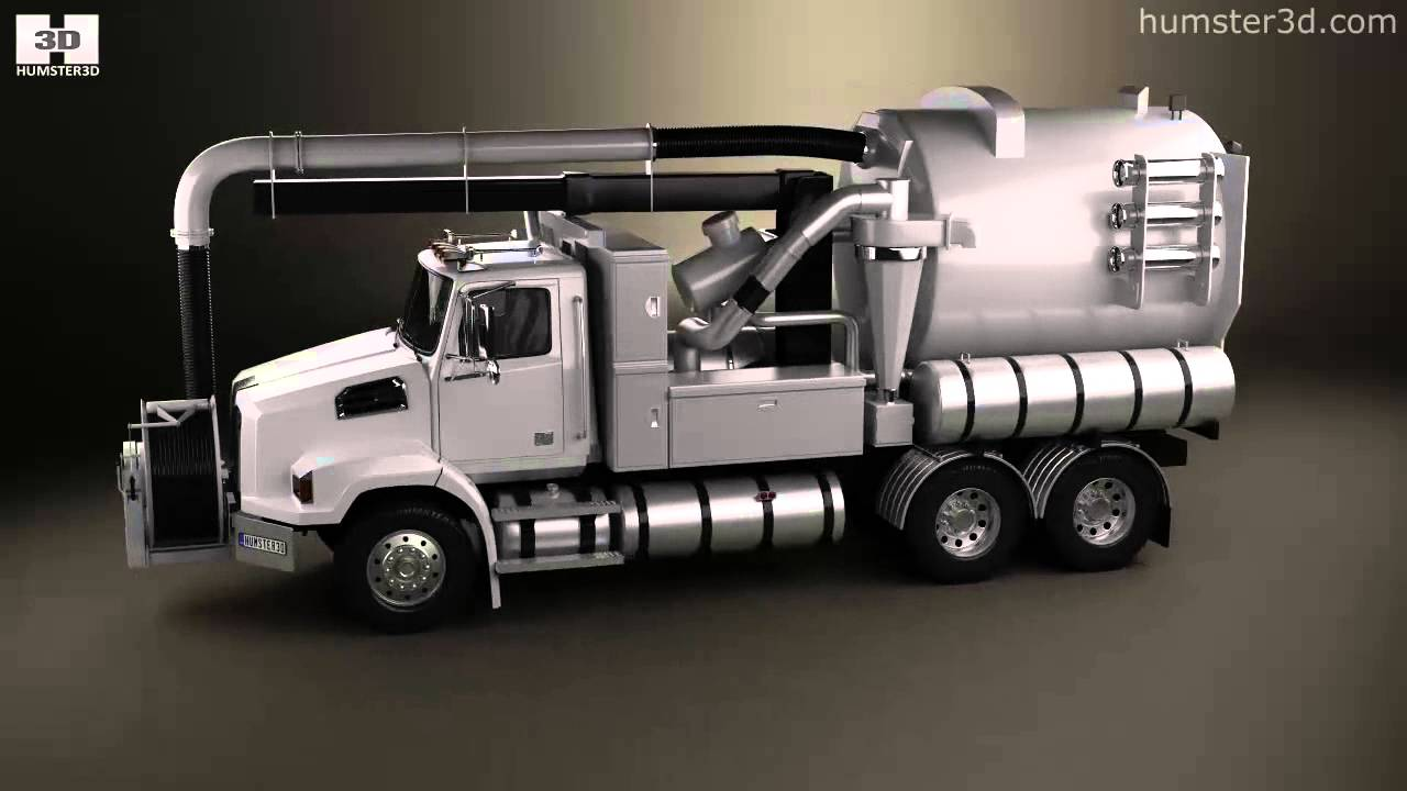 Western Bedroom Tank Toy Box Or: Western Star 4700 Set Back Sewer Vacuum Truck 2011 By 3D