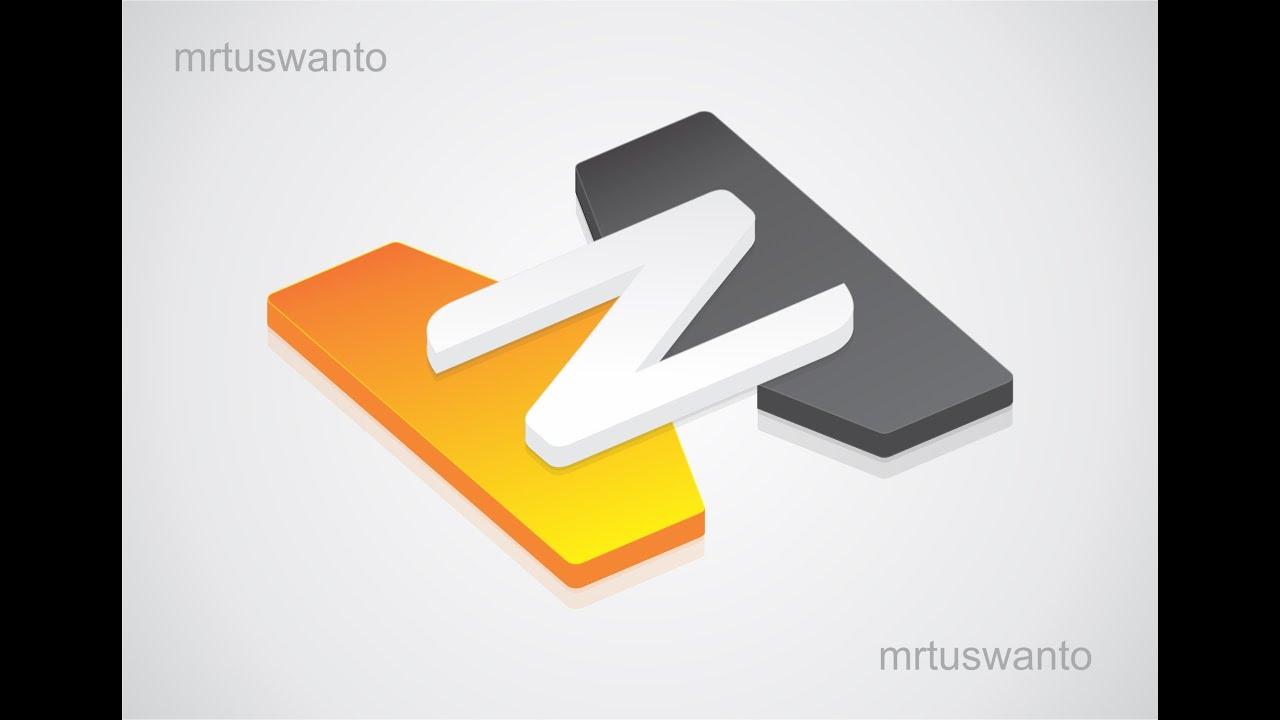 Tutorial Cara Membuat Logo 3D dengan Corel Draw Versi Ke 3 - ViYoutube
