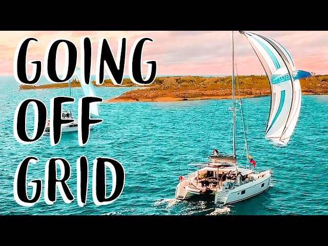 CATAMARAN SAILING UNINHABITED ISLANDS | Boat Life Full Time