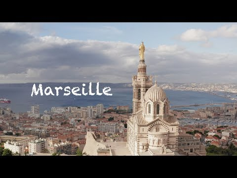 Marseille - Drone DJI Mavic 2 Pro Cinematic View Over French City