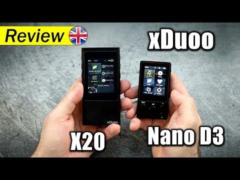 xDuoo X20 & Nano D3
