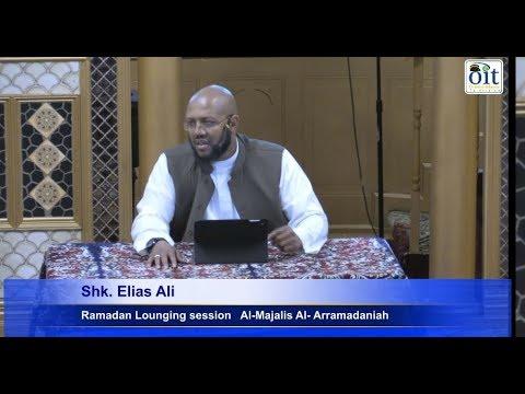 Ramadan Lounging session   Al-Majalis Al- Arramadaniah