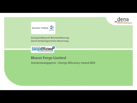 Bharat Forge Ltd. - Anerkennungspreis  Energy Efficiency Award 2015