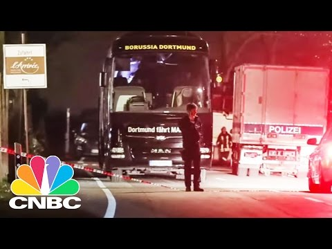 Market Trader Arrested, Accused Of Bombing German Soccer Team's Bus: Bottom Line | CNBC