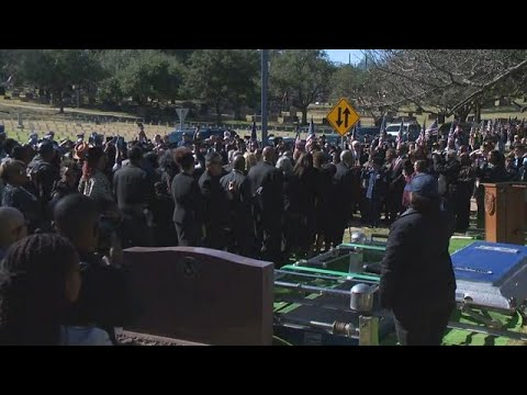 FULL VIDEO: Richard Overton Laid To Rest At Texas State Cemetery