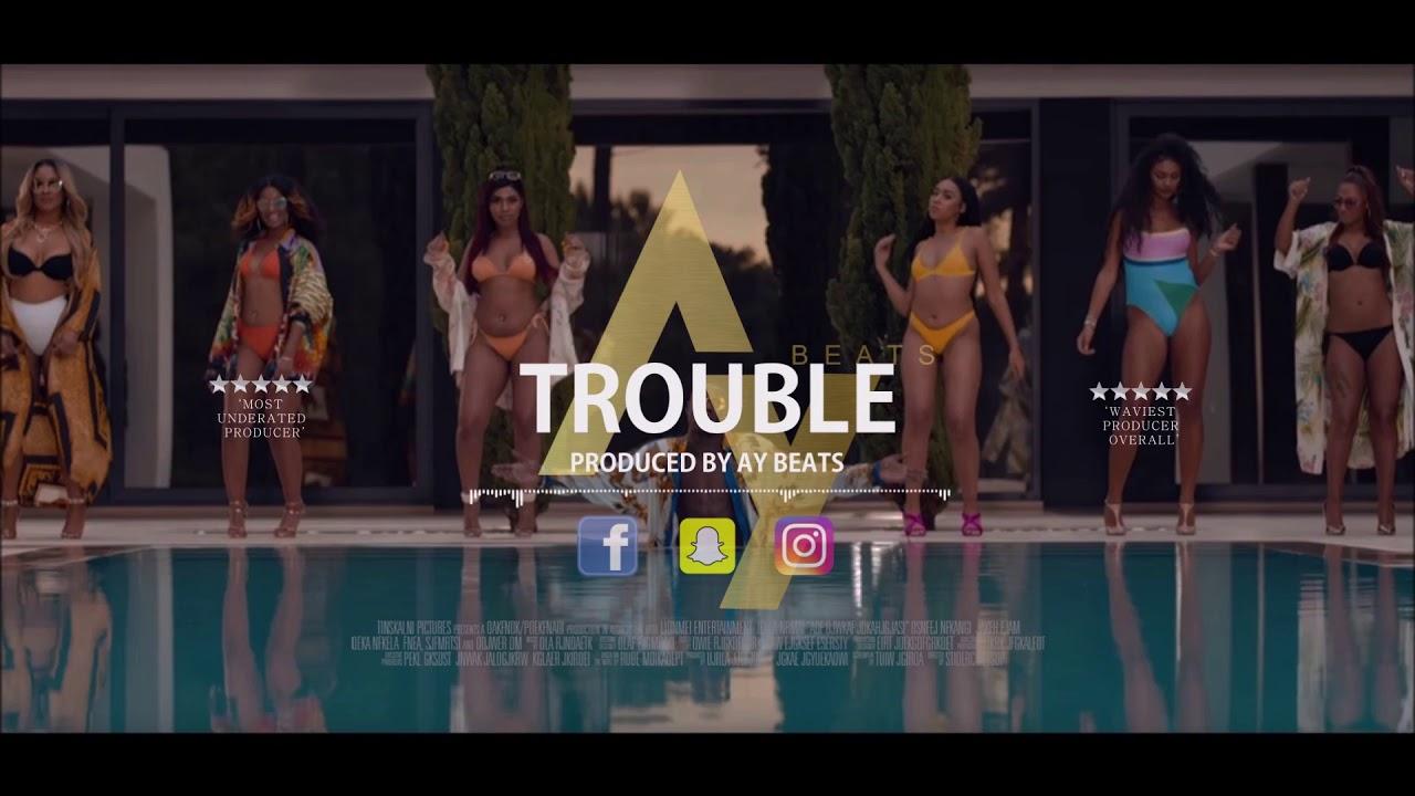 |NEW| J Hus x Nines x SL Type Beat | 'Trouble' | Guitar Beat | Prod  By Ay  Beats