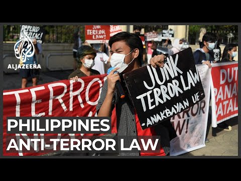 Philippines lawyers protest against anti-terror bill