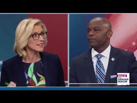 Giellis, Hancock spar over Denver development, homelessness in 9NEWS mayoral debate