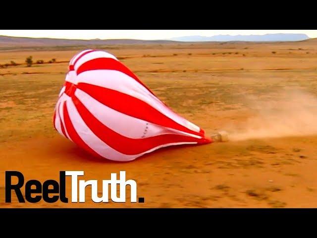 Stephen Tompkinson's Australian Balloon Adventure - Crash | Ballooning Documentary | Documental