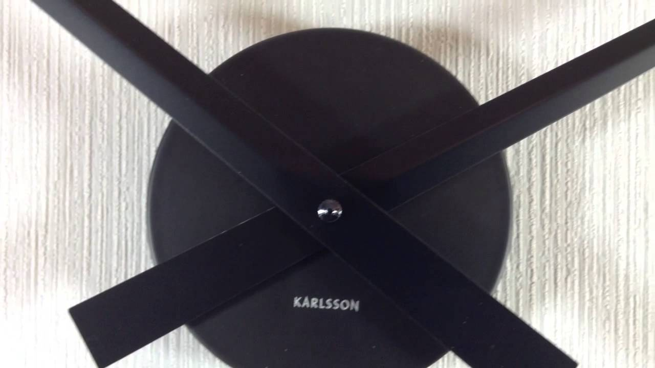 Karlsson Uhr karlsson wanduhr big
