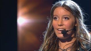 Mathilde - Wondergirl | Eerste halve finale Junior Songfestival 2013