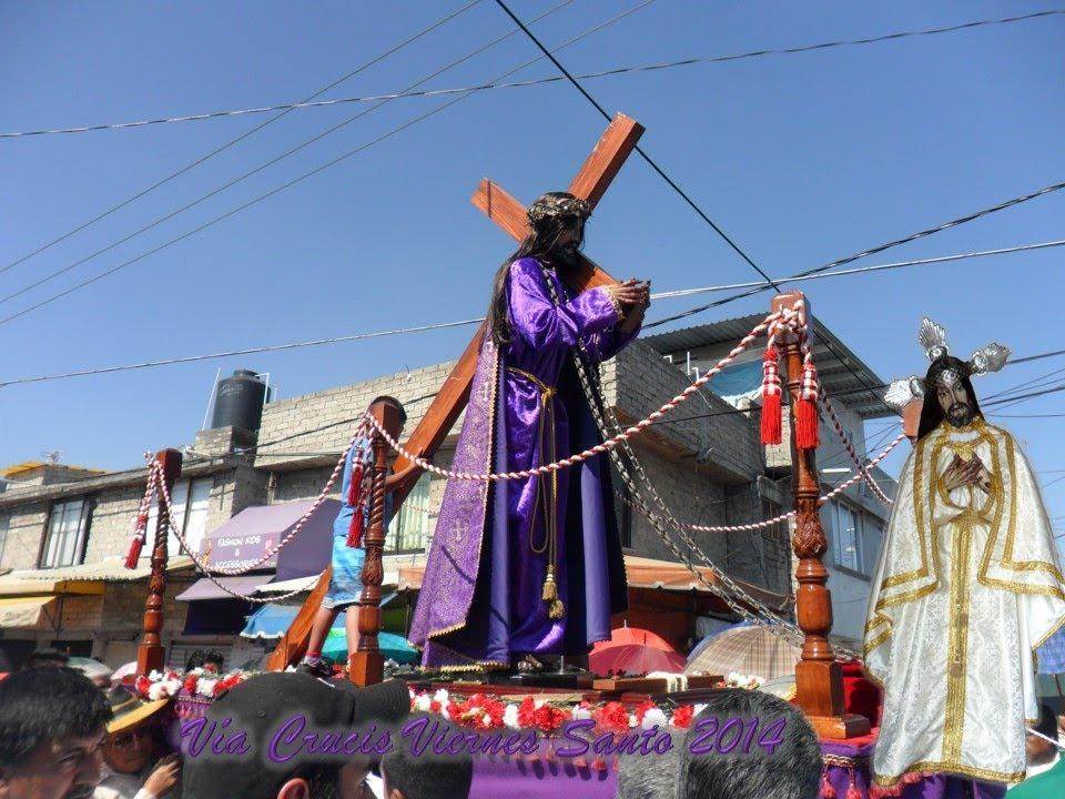 San Mateo Atenco Semana Santa Via Crucis Viernes Santo
