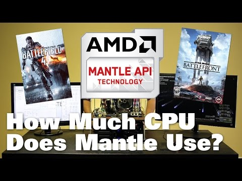 How Much CPU Does Mantle Use?