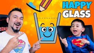 BARDAK NASIL MUTLU OLUR? | EGEMEN KAAN İLE HAPPY GLASS OYNUYORUZ (1-23)