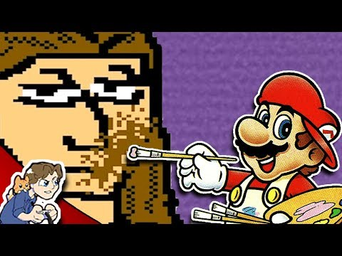 Drawing YouTubers: Brutalmoose! | Mario Paint #4 | ProJared Plays