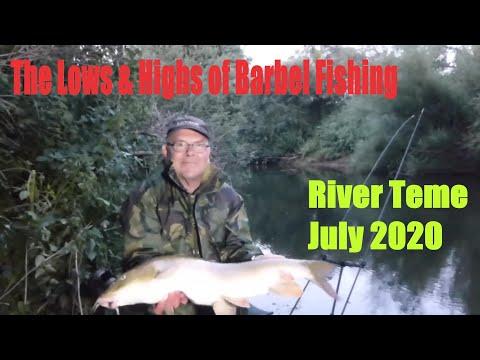 Barbel And Chub Fishing - River Teme