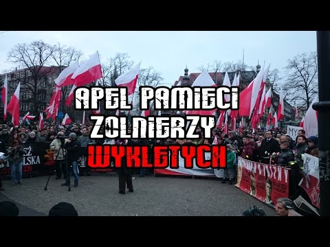 APEL PAMIĘCI Żołnierzy Wyklętych - Szczecin 2015
