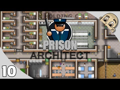 Prison Architect 2.0 - Ep. 10 - Putting Prisoners To Work! - Let's Play Prison Architect Gameplay