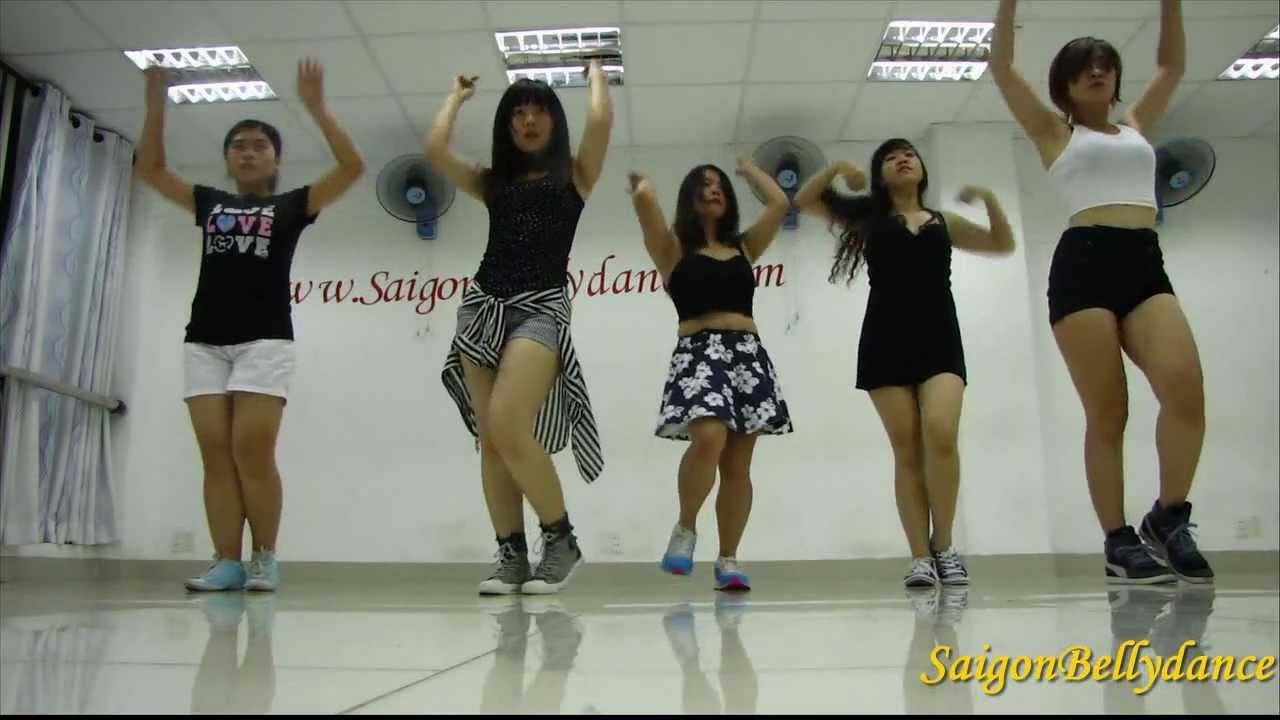 Học nhảy Kpop Dance Cover bài Hush (Miss A)-Học nhảy Hàn Quốc by Ms. Puna, Saigon Dance