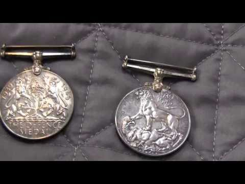 Silver War Medals!
