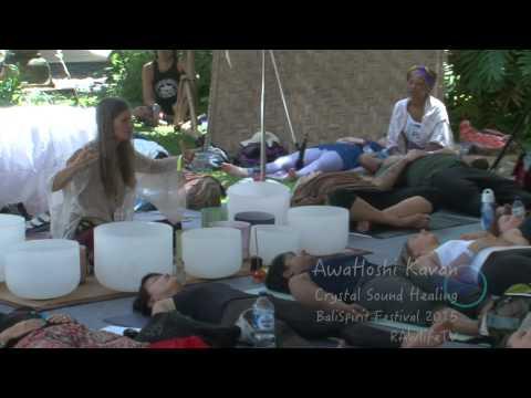 AwaHoshi Kavan  Crystal Sound Healing @  BaliSpirit Festival