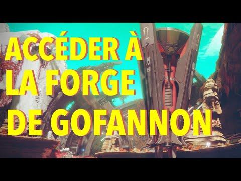 DESTINY 2 : COMMENT ACCEDER À LA FORGE GOFANNON