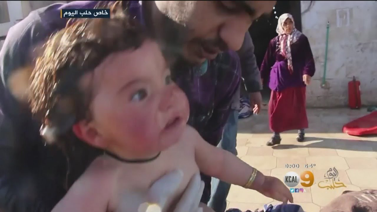 Chemical Attack In Syria Kills About 100 People