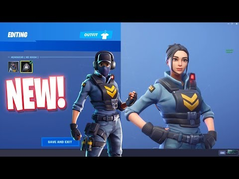 FORTNITE WAYPOINT SKIN NO MASK STYLE..