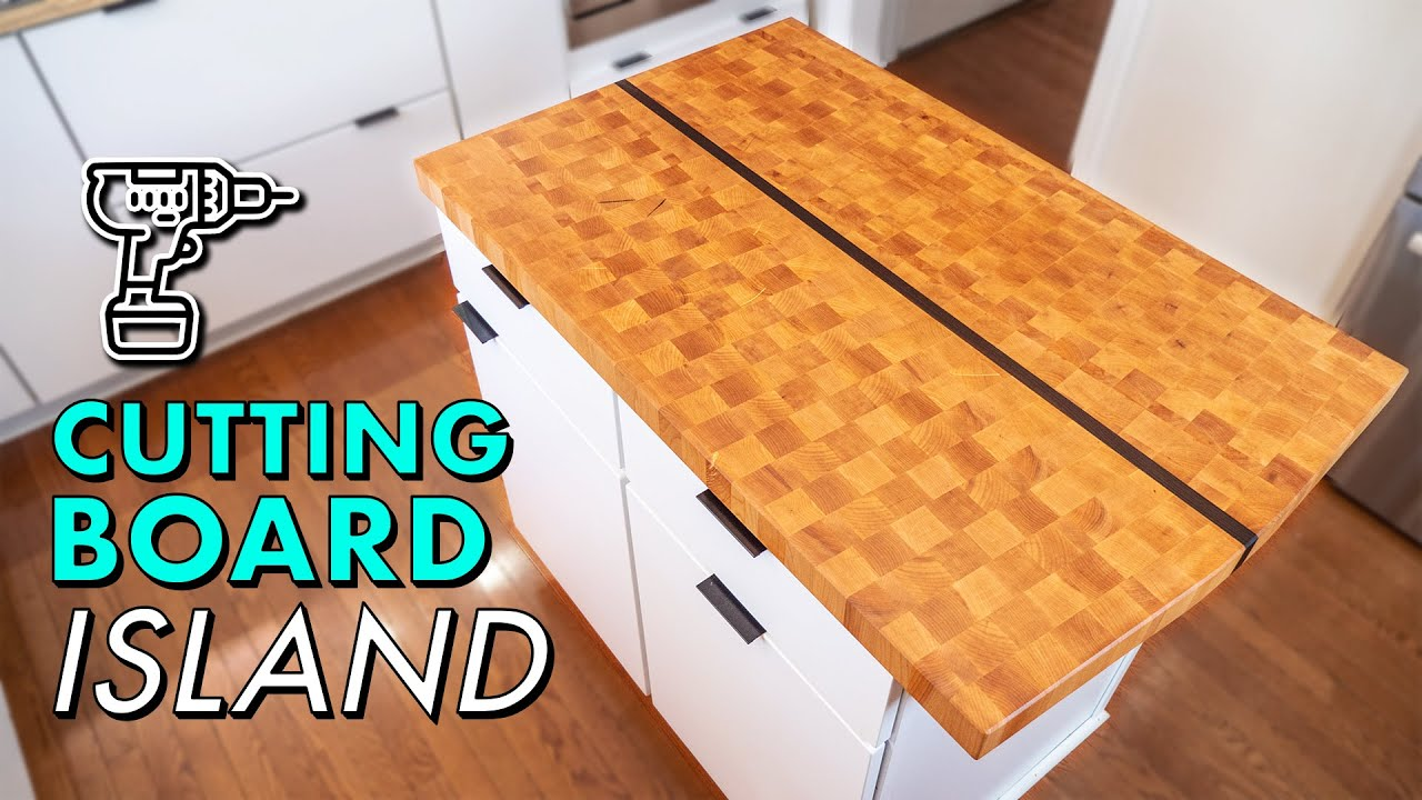 Building A Giant Cutting Board For My