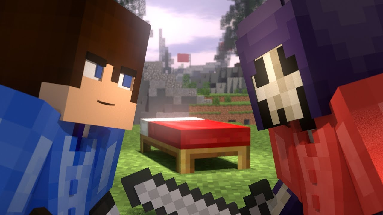 Bed Wars Part 1 Minecraft Animation Hypixel YouTube
